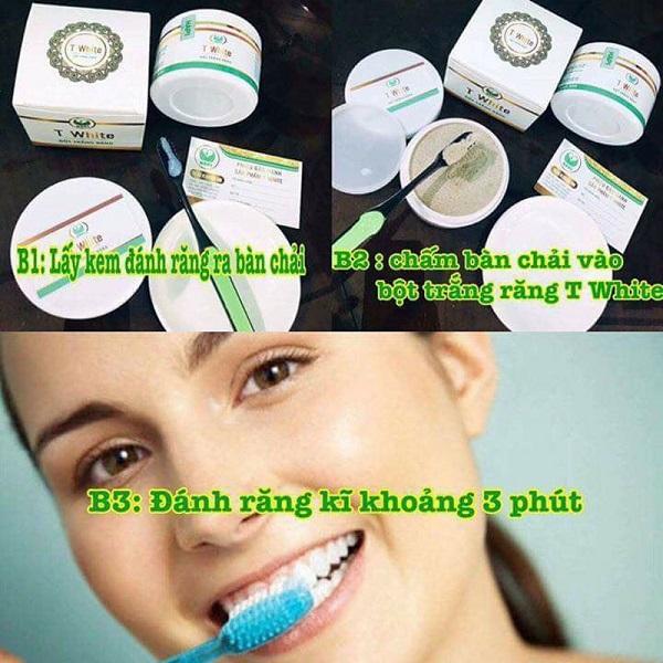 Bột trắng răng T white